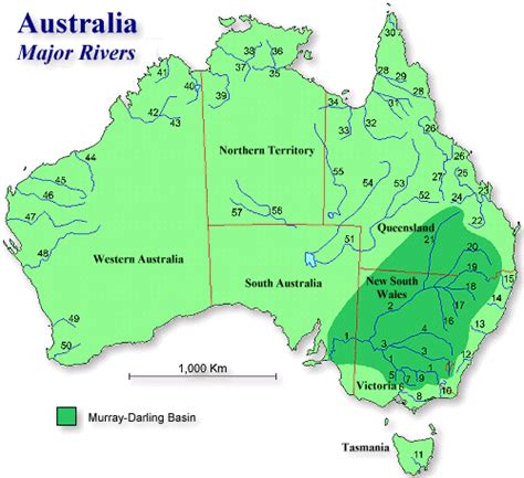 names of rivers fortescue river