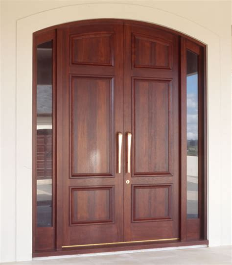 Wooden Main Door by House Design Property External Home Design Interior