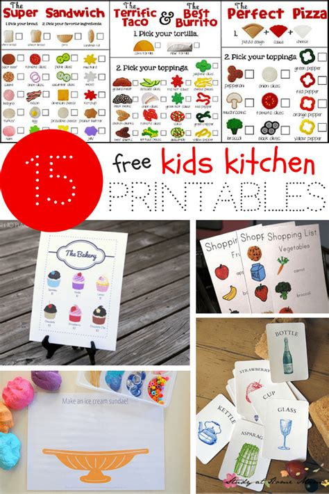 printable play kitchen templates kids kitchen printables sugar spice and glitter