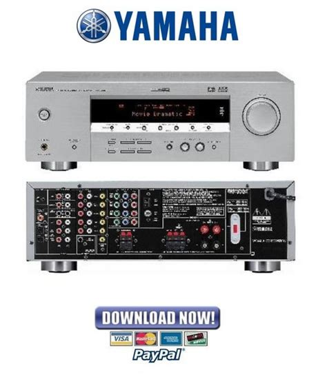 Yamaha Rx V350 Htr 5730 Service Manual Amp Repair Guide