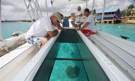 glass bottom boat tours aruba royal caribbean international
