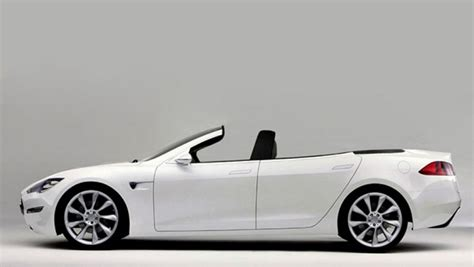 Convertible Tesla Model S Tesla Model S Convertible Unveiled Reporter