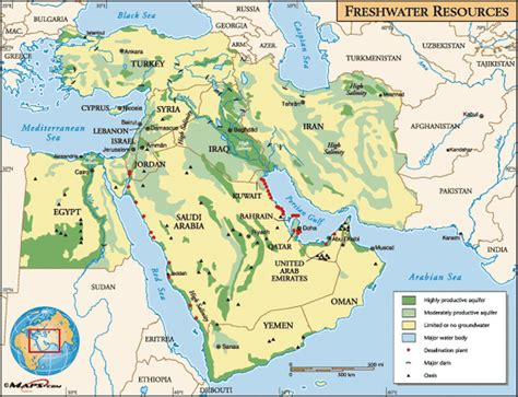 middle east map water water crisis in the middle east introduction