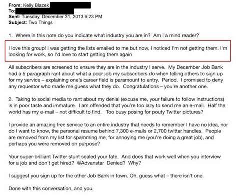 Rejection Letter Viral cleveland bank operator blazek shamed for