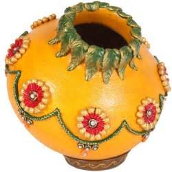 kundan minakari matki with lid boontoon