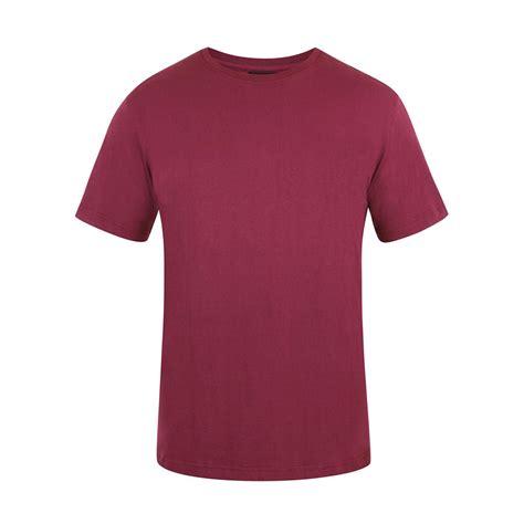 maroon merch mens maroon canterbury teamwear team plain tee shirt