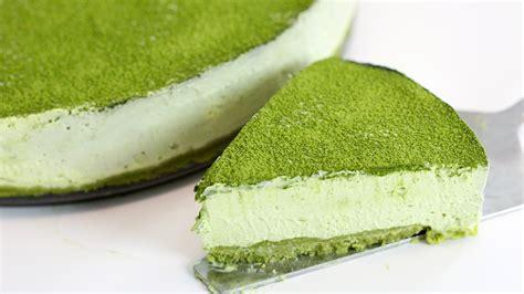 membuat no bake cheesecake cara membuat cheese cake home made matcha green tea no