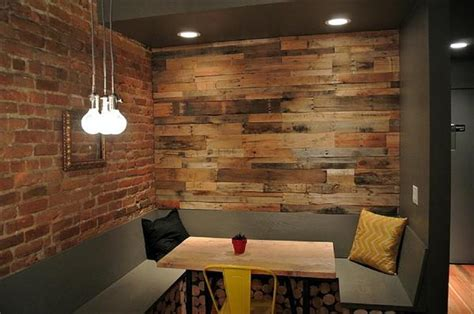 pallet wood accent wall for the home pinterest other wooden pallet accent wall decor ideas pallets designs