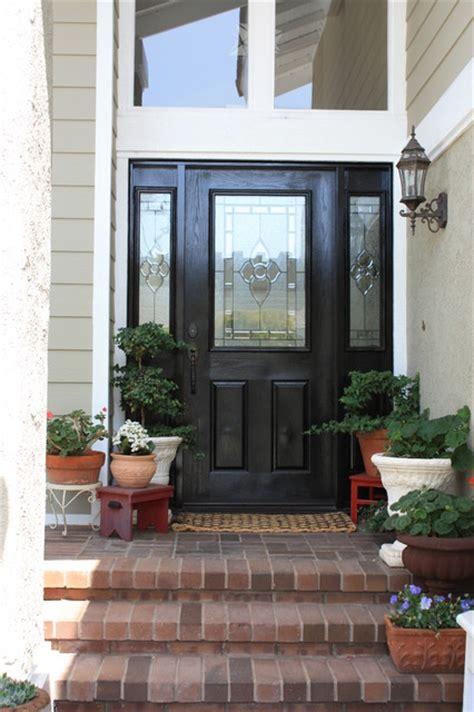front door eclectic entry los angeles