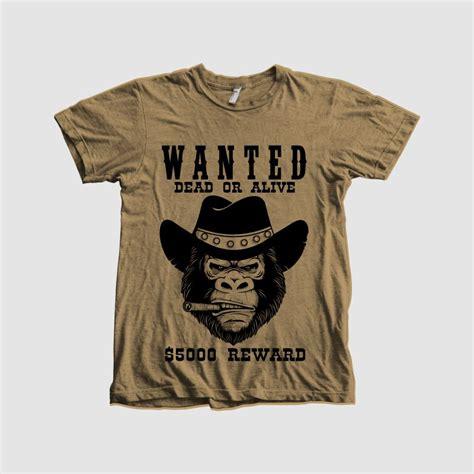 t shirt layout sle gorilla t shirt t shirts design concept