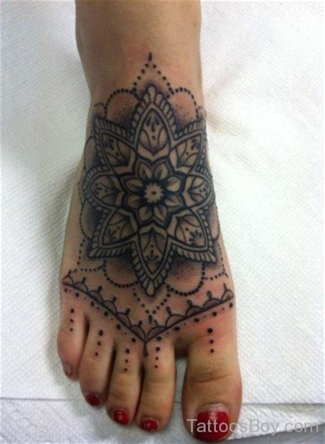 mandala foot tattoo mandala tattoos designs pictures page 10