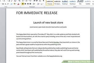 how to write a news release template the 3 best ways to write a press release with exle