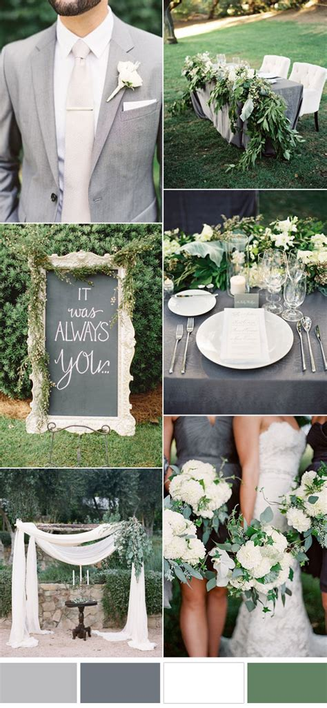 five beautiful wedding colors in shades of grey elegantweddinginvites