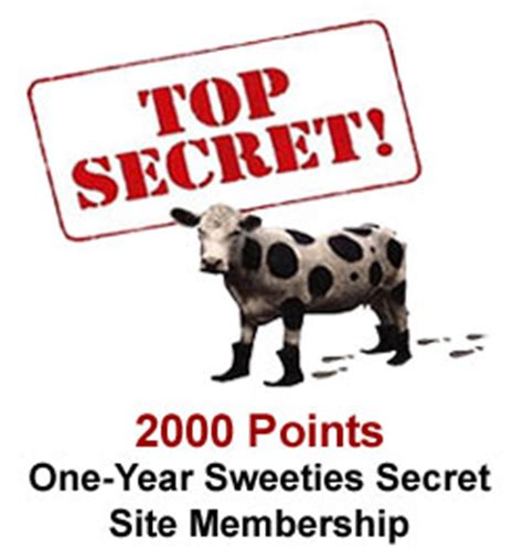 Sweeties Sweepstakes Secret Site - rewards store