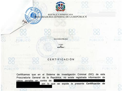 Criminal Record Check Republic Marriage Certificate Birth Certificate