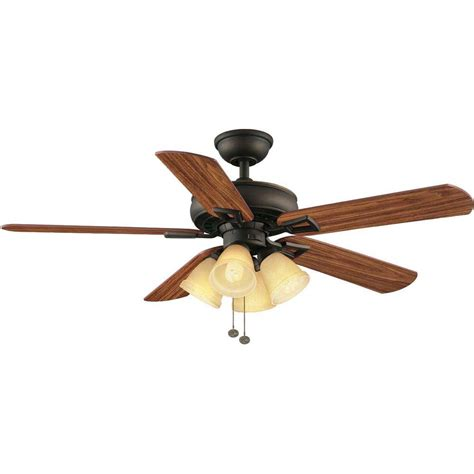 home depot 52 inch ceiling fans hton bay lyndhurst 52 in indoor oil rubbed bronze