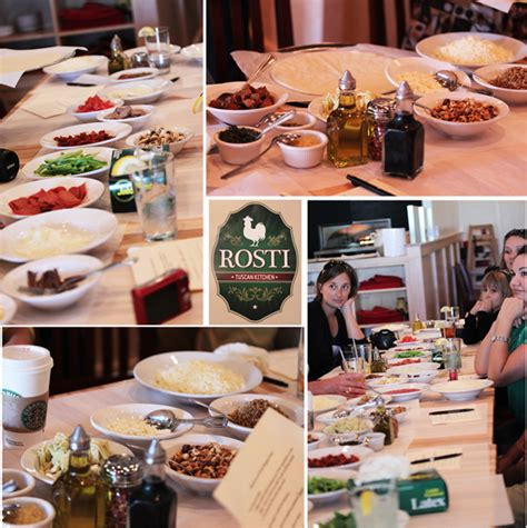 Rosti Tuscan Kitchen by Rosti Tuscan Kitchen And A Pizza Competition
