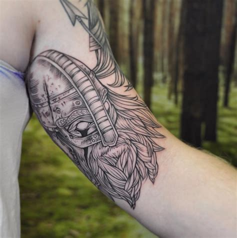 viking tattoo instagram viking on inner arm instagram michaelbalesart by michael