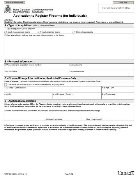 Gun Purchase Background Check Form 9 Firearm Registration Form Exles