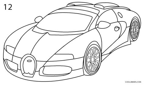 learn how to draw bugatti veyron sports cars step by drawings of bugatti www pixshark images galleries