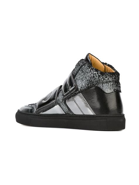 maison martin margiela high top sneakers mm6 by maison martin margiela hi top sneakers