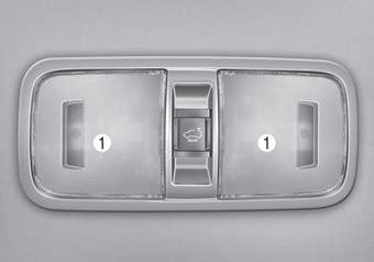 book repair manual 2003 kia sedona interior lighting kia sedona room l interior lights features of your vehicle kia sedona yp owners manual