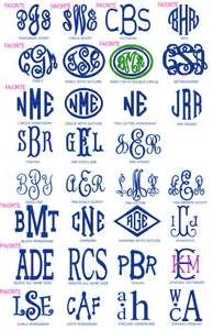 initial fonts for monogram preppy monogrammed gifts fonts