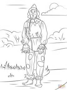 wizard of oz coloring pages wizard of oz scarecrow coloring page free printable