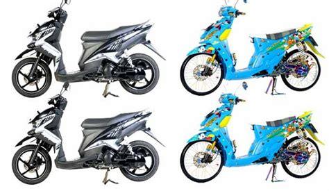 kombinasi warna teduh akan dominasi modifikasi motor 2013 kombinasi trend modifikasi 2015 dengan model striping