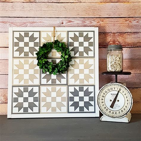 Painted Quilt Squares by Painted Wood Quilt Squares Blocks Squares Large