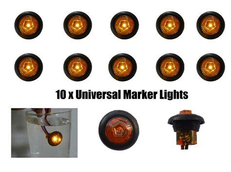 amber led marker lights freeshipping amber mini marker lights truck led