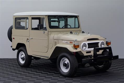 1971 Toyota Land Cruiser 1971 Toyota Land Cruiser Fj 40 Suv 161595