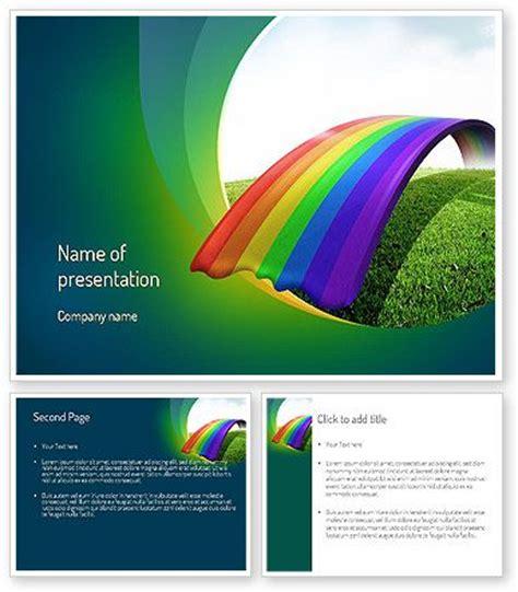 Http Www Poweredtemplate Com 11287 0 Index Html Rainbow Powerpoint Rainbow Template