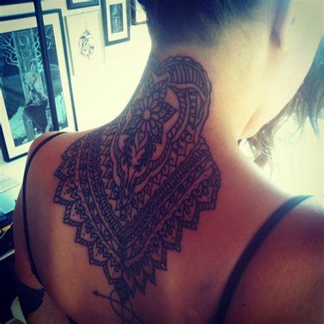 mandala neck tattoo ink forever mandalas ps and neck