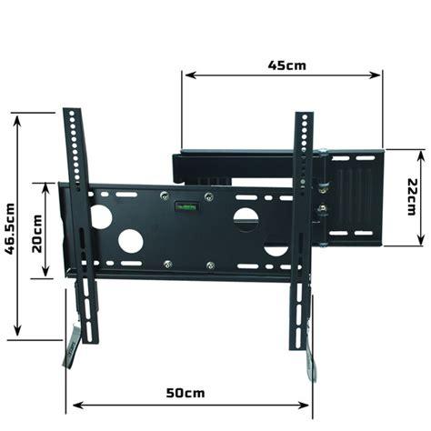 Telescopic Tv Bracket 1 3m Thick 400 X 400 Pitch For 26 55 Inch Tv lcd led plasma tv flat swivel telescoping wall mount bracket 32 46 zjjf fitness