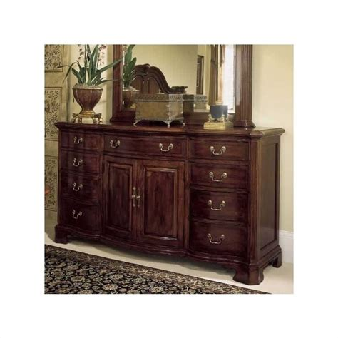 American Drew Cherry Grove Dining Room by American Drew Cherry Grove 9 Drawer Triple Dresser With