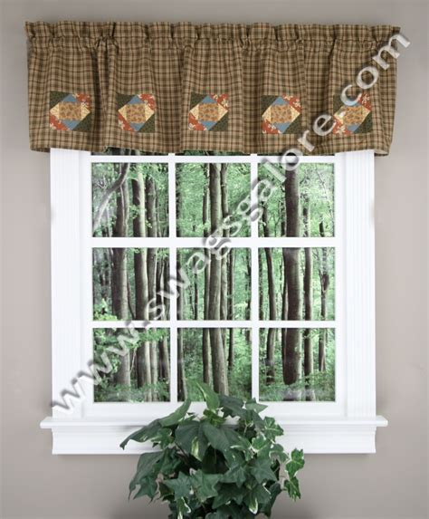 fish c lined valance multi park designs kitchen