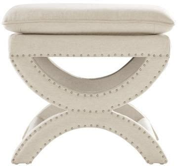 Restoration Hardware Vanity Stool by Restoration Hardware Toscane Nailhead Bench Hill Country