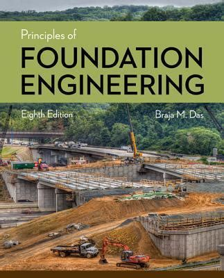 principles of foundation engineering books principles of foundation engineering braja m das