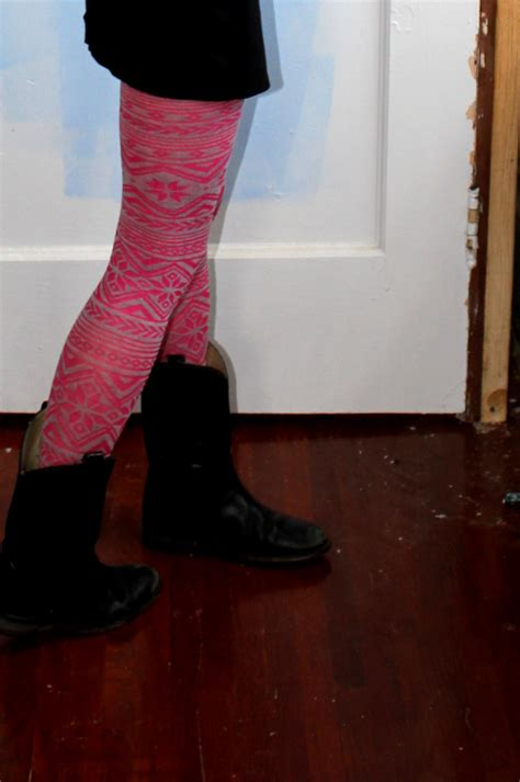 patterned tights boots patterned tights miaylita