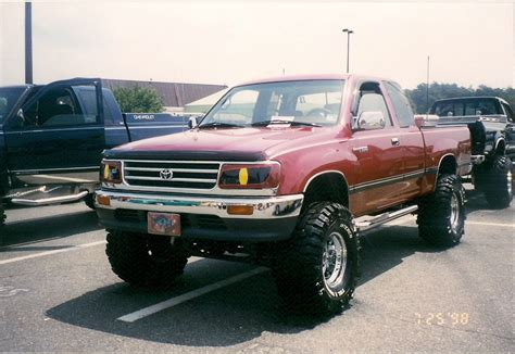 Toyota T100 Lifted Littlet100 1995 Toyota T100 Specs Photos Modification