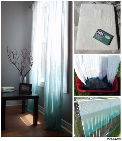 ombre sheer curtains 1000 ideas about dip dye curtains on pinterest tie dye
