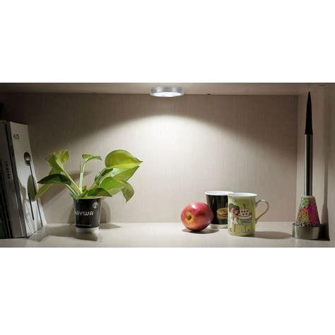 led puck light kit 3 pcs led cabinet puck light kit 6w 510lm 6000k le