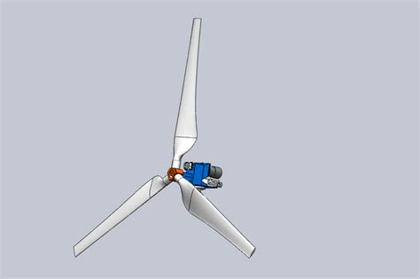 solidworks tutorial wind turbine 6 kw wind turbine with gear box step iges solidworks
