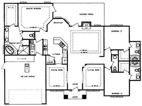family floor plans single family house floor plan home design and style