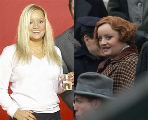 lucy film transformation lucy davis from the office is unrecognisable in red wig