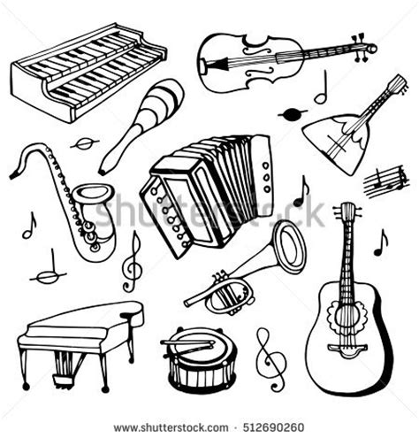 chinese instruments coloring pages shutterstock puzzlepix