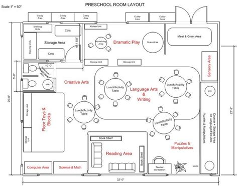 preschool floor plans kindergarten classroom layout preschool classroom layout