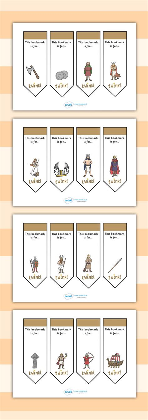 printable bookmarks twinkl 17 best images about teaching vikings on pinterest