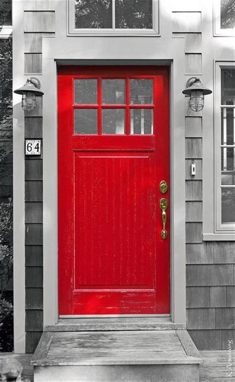 red front doors a charming fire engine red front door front door color